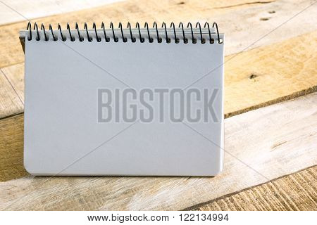Office desk table with notepad. Business creative consept.