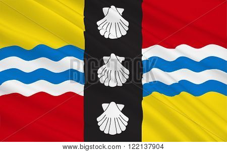 Flag of Bedfordshire is a county in the East of England