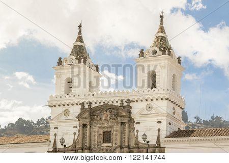 San Franciso Catholic Church Quito Ecuador