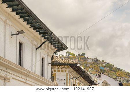 Architecture At Historic Center Of Quito