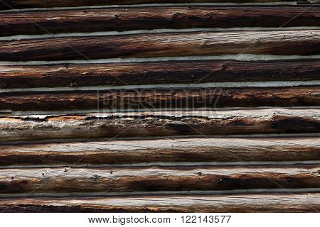 building Wood log Wall for background use
