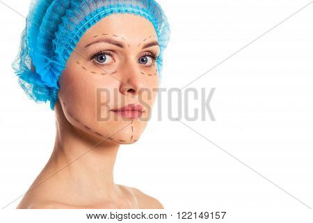 Preparation For Facial Surgery