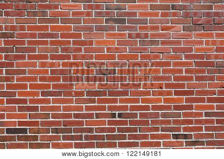 Red Brick Wall pattern for background use