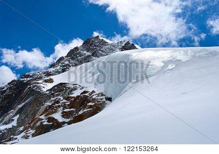 Himalayas. (Cho La pass) Sagarmatha National Park. Nepal