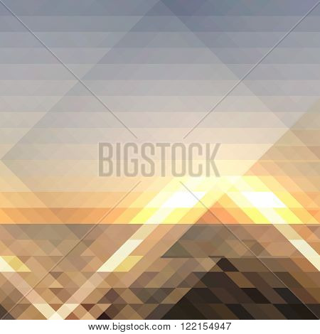 Abstract in gray-brown tones background, vector illustration