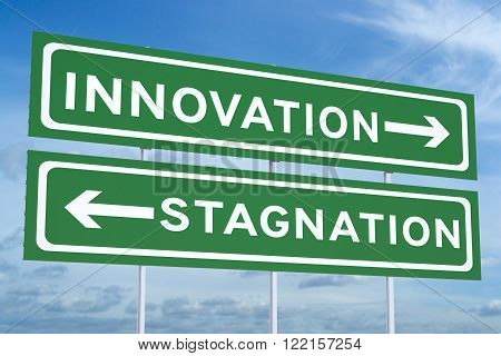 innovation or stagnation on the road signs