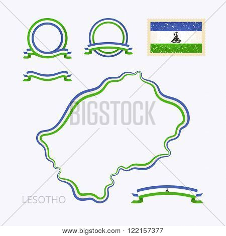 Colors Of Lesotho