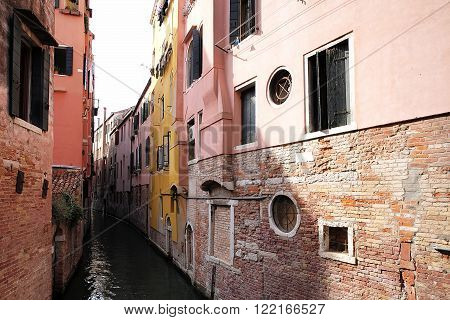 Narrow Venetian Canal