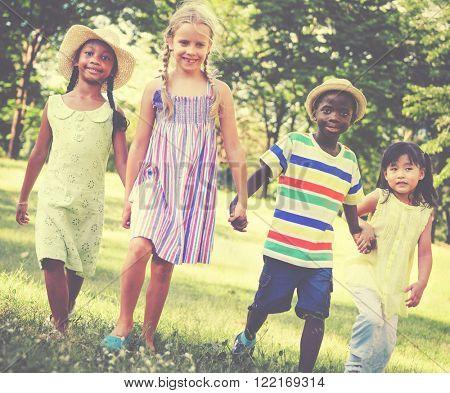 Child Chilhood Children Kids Happiness Concept