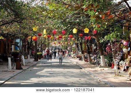Travel Hoian Hoi An,vietnam Old Town