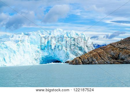 Perito Moreno Glacier at Argentino lake in Patagonia, Argentina