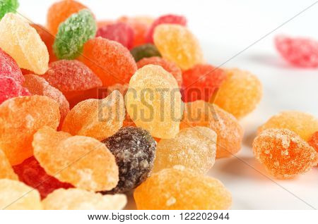 Sugar Candies In Different Colors
