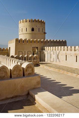 Sunaysilah Castle. Oman