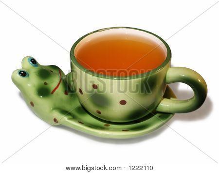Toy Frog Cup