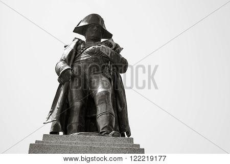 Napoleon, Statue In Ajaccio, Corsica, France