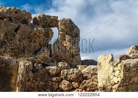 Detailed Ggantija Temple View
