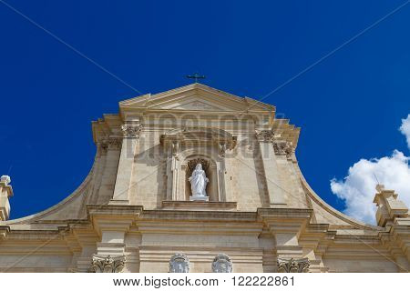 Gozo Cathedral View