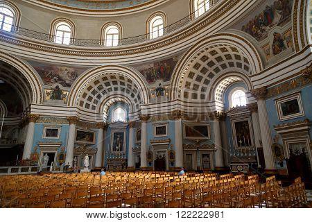 Rotunda Of Mosta Interior