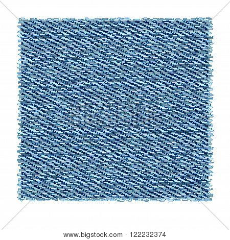 Light blue washed denim fabric vector background