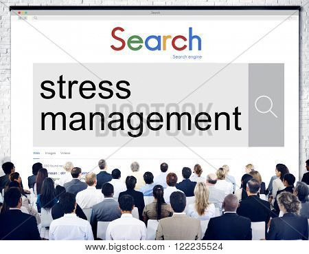 Stress Management Relaxation Realization Healthcare Concept