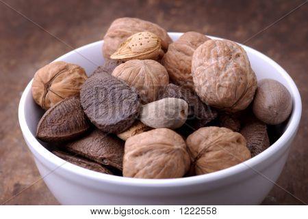 Food - Bowl Of Nuts