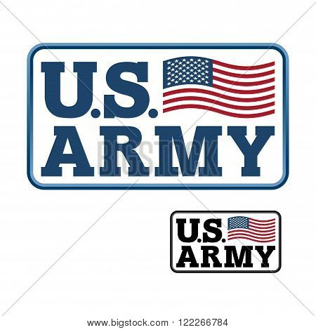 Us Army. Emblem For Army Of America. Flag Of United States America. United States Army. Military Emb