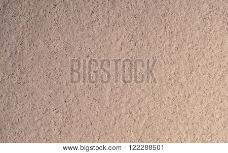 Macro bright beige chamois rough texture background