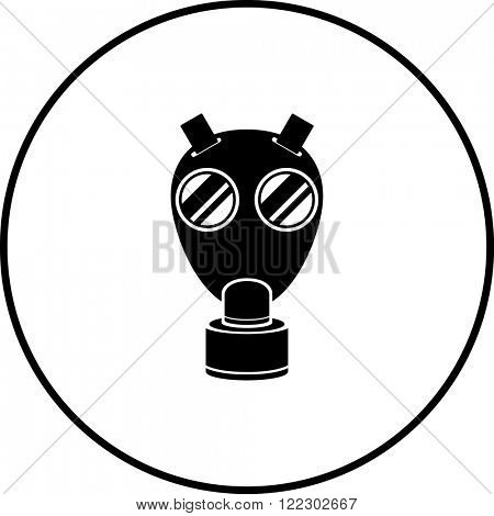 wwii military gas mask symbol