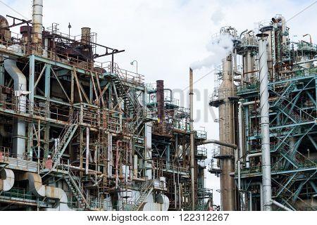 Industrial plant at kawasaki