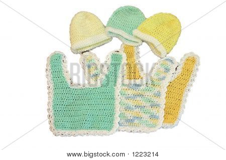 Bibs And Hats For Baby