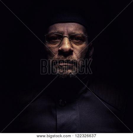 Portrait Of A Middle Age Man
