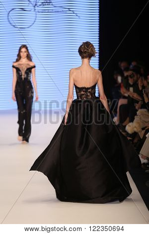 Rasit Bagzibagli Couture Catwalk In Mercedes-benz Fashion Week Istanbul