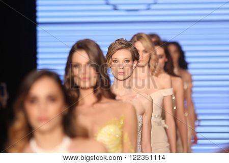 Rasit Bagzibagli Couture Catwalk In Mercedes-benz Fashion Week Istanbul
