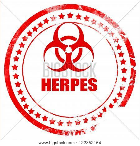 Herpes virus concept background with some soft smooth lines