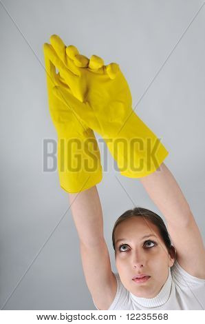 Hygiene And Safety Concept Studio Shot