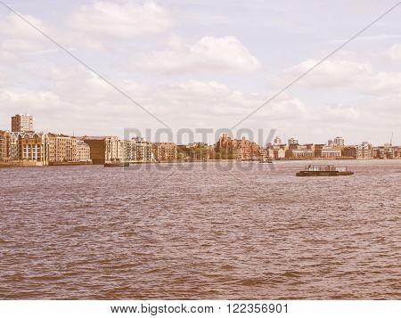 London Docks Vintage
