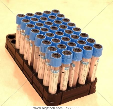 Holder With Test Tubes