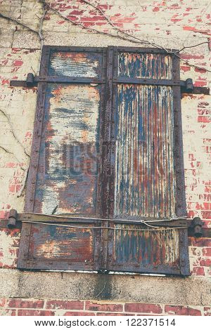 Old Shutters In Decay