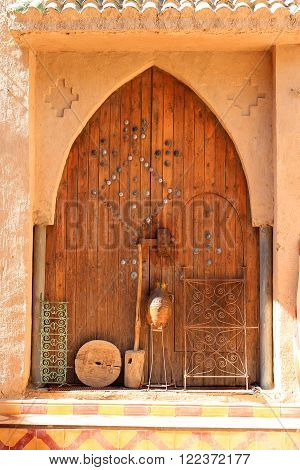Doorway In Rissani, Morocco