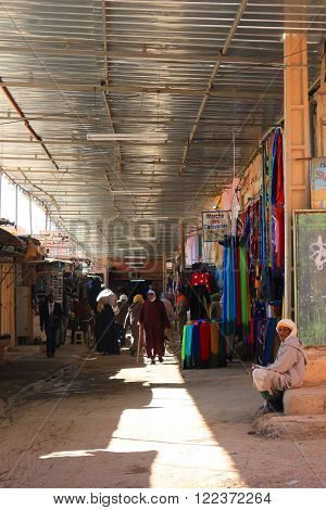 Souk In Rissani