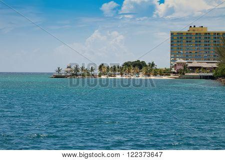 Tropical Caribbean Island of Ocho Rios, Jamaica