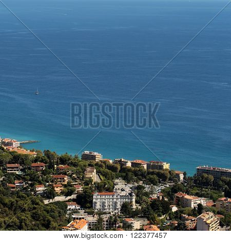 View Of Picturesque Resort Town