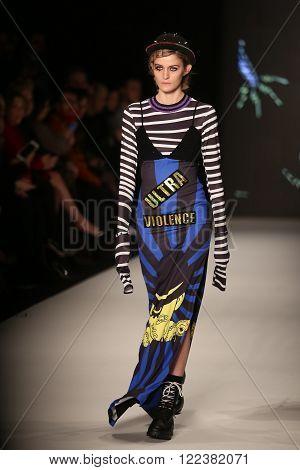 Db Berdan Catwalk In Mercedes-benz Fashion Week Istanbul