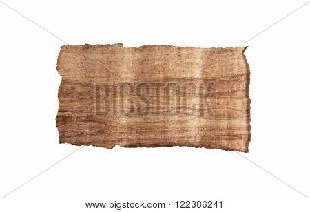 White frame with wooden background. Copy space for your text