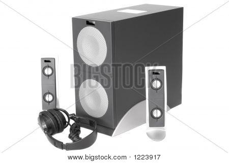 Subwoofer-Lautsprecher-System.