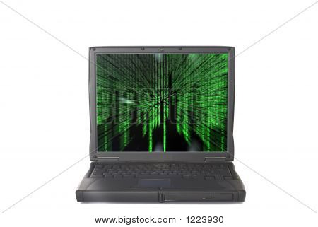 Laptop, Enter The Matrix