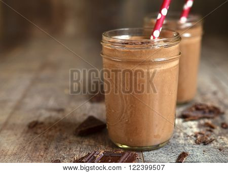 Chocolate Babnana Smoothie.