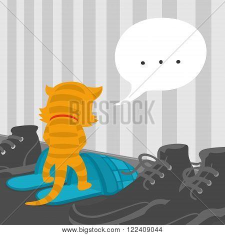 Cartoon Cat Footwear Spoils