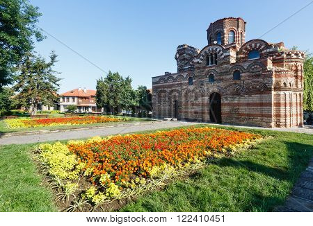 Church of Christ Pantocrator Nessebar Bulgaria. Constructed in the 13th-14th century