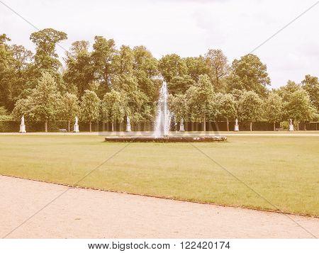 Park Sanssouci In Potsdam Vintage
